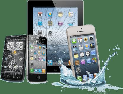 Handy reparatur mit Wasserschaden, Display kaputt