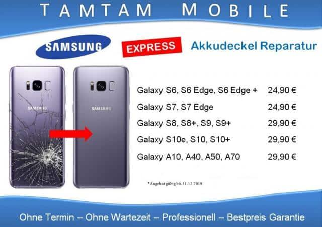 Express Sofort Reparatur Samsung